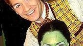 Backstage at Wicked (2/05) - David Ayers - Shoshana Bean