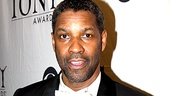It's not easy to get a smile out of Denzel Washington, but we (almost) did.