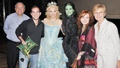 Wicked 5 Millionth Audience Member – Donald LaTorre – Brett LaTorre – Katie Rose Clarke – Mandy Gonzalez – Eden Roberts – Gloria LaTorre