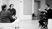 Other Desert Cities Rehearsal – Thomas Sadoski – Elizabeth Marvel – Jon Robin Baitz