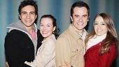 Looks like young love is a universal language. Brazil's Sky and Sophie, Thiago Machado and Pati Amoroso snuggle up side by side with Broadway pair Corey Greenan and Liana Hunt.