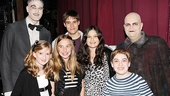 Travolta Addams - Zachary James - guest- Jesse Swenson - Ella Bleu Travolta - Adam Riegler - Brad Oscar