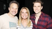 Kathie Lee Gifford at Catch Me If You Can – Norbert Leo Butz – Kathie Lee Gifford – Aaron Tveit