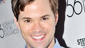 Drama Desk Awards Cocktail Reception – Andrew Rannells