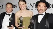 2011 Tony Awards Winners Circle – Norbert Leo Butz – Sutton Foster – Mark Rylance