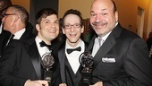 2011 Tony Awards Winners Circle – Stephen Oremus – Larry Hochman – Casey Nicholaw