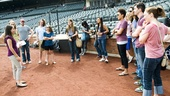 Hair Cast at Mets Game – sound check