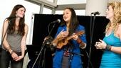 Hair Cast at Mets Game – Allison Case – Kacie Sheik – Kaitlin Kiyan (performing)