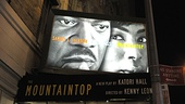 First Preview of <i>The Mountaintop</I> - Jacobs Theatre
