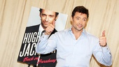 Hugh Jackman offers a thumbs-up to Broadway—and the feeling is mutual.