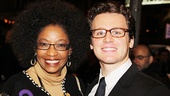 Venus in Fur Broadway Opening Night – Adriane Lenox – Jonathan Groff