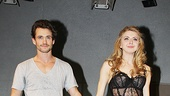 Venus in Fur Broadway Opening Night – Hugh Dancy – Nina Arianda (curtain call 1)
