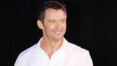 That smile on Jackman's face shows the international movie star is thrilled to come back to Broadway.