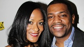 <i>Stick Fly</i> Opening Night –  Mekhi Phifer and girlfriend