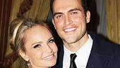 """One look at this snapshot, and you'll know why it was entirely appropriate for Cheyenne Jackson to sing """"I'm Gorgeous"""" to Kristin Chenoweth."""