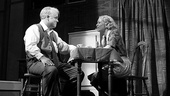 Philip Seymour Hoffman and Linda Emond as Willy and Linda Loman in Death of a Salesman.