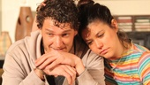 Gabriel Ebert as Leo and Zoë Winters as Bec in 4000 Miles.