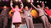 Bloomberg and How to Succeed Cast – Michael Park – Stephanie Rothenberg – Michael Bloomberg – Nick Jonas – Beau Bridges