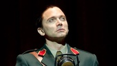 Michael Cerveris as Juan Peron in Evita.