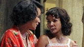 Nicole Ari Parker as Blanche, Daphne Rubin-Vega as Stella and Blair Underwood as Stanley in A Streetcar Named Desire.