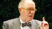 John Lithgow as Joseph Alsop and Brian J. Smith as Andrei in The Columnist.