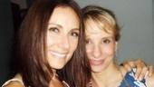 Broadway pals Laura Benanti and Sarah Saltzberg kick back at Rockwell.