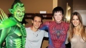 Spider-Man Turn Off The Dark – Marc Anthony Visit - Robert Cuccioli - Marc Anthony – Matthew James Thomas – Shannon De Lima
