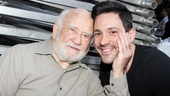 Who wouldn't want a handful of Steve Kazee? Ed Asner sure does!