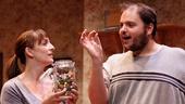 Julia Murney as Tami and Daniel Everidge as Josh in Falling.