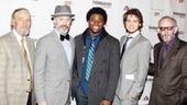 'Cyrano de Bergerac' Opening Night — Bill Buell — Tim McGreever — Okieriete Onaodowan — Jack Cutmore-Scott — Max Baker