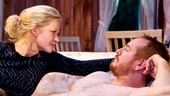 Gretchen Mol as Larissa and Darren Goldstein as Jonathan in The Good Mother.x
