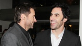 Les Miserables London premiere – Hugh Jackman – Sacha Baron Cohen