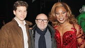 Phil Collins at 'Kinky Boots' — Stark Sands — Phil Collins — Billy Porter