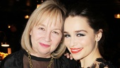 'Breakfast at Tiffany's' Opening — Emilia Clarke and mother