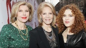 Kinky Boots Opening- Christine Baranski- Daryl Roth- Bernadette Peters