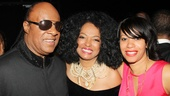 'Motown' Opening Night — Stevie Wonder — Diana Ross — Aisha Morris