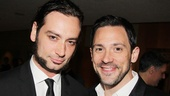 What a handsome duo! Jekyll & Hyde's Constantine Maroulis poses with Tony winner Steve Kazee.