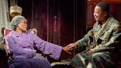 Cicely Tyson as Carrie Watts and Cuba Gooding Jr. as Ludie Watts in The Trip to Bountiful.