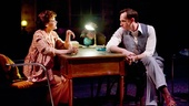 Haviland Morris as Lucia Davidora and Stephen Kunken as Nikolai Nabokov in Nikolai and the Others.