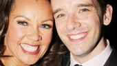 Ugly Betty reunion! Vanessa Williams and Michael Urie catch up at Copacabana.