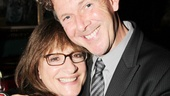 Broadway Grande Dame Patti LuPone gets a squeeze from Sweeney Todd screenwriter and I'll Eat You Last playwright John Logan.
