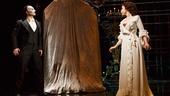 Peter Joback as The Phantom as Samantha Hill as Christine in The Phantom of the Opera.