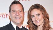 New York Pops music director Steven Reineke welcomes Laura Benanti to the gala.
