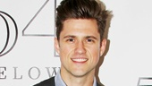 Here's the man of the hour! Aaron Tveit dresses to impress at his sold-out 54 Below concert.