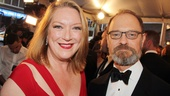 Tony Red Carpet- Kristine Nielsen- David Hyde Pierce
