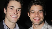 It wouldn't be an opening night on Broadway without studly Newsies Corey Cott and Jeremy Jordan.