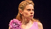 Cherry Jones as Amanda Wingfield and Celia Keenan-Bolger as Laura Wingfield in The Glass Menagerie.