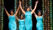 Carly Hughes, Alysha Deslorieux, Rashidra Scott, & Ashley Blanchet as The Shirelles in 'Beautiful: The Carole King Musical'