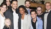 Audra McDonald had a blast hanging out with the cast of Little Miss Sunshine! See the show at Second Stage Theatre, opening November 14.
