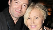 Love these two! Hugh Jackman is accompanied by his wife, Deborra-Lee Furness.